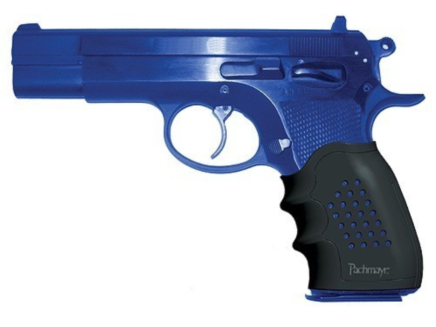 Pachmayr Tactical Grip Glove Slip-On Grip Sleeve CZ 75, 85 Rubber Black