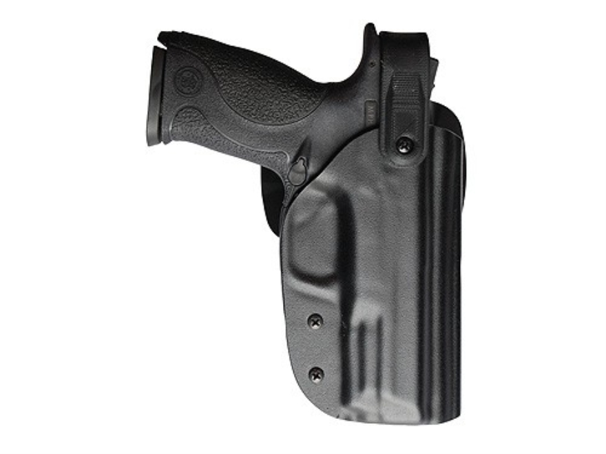 Blade-Tech WRS Tactical Thigh Holster Right Hand Glock 19, 23 with Streamlight M3, M6 Light Kydex Black