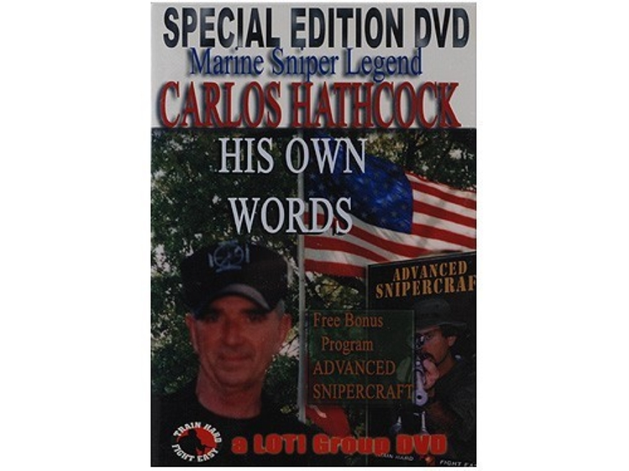 "Gun Video ""Carlos Hathcock: His Own Words"" DVD"