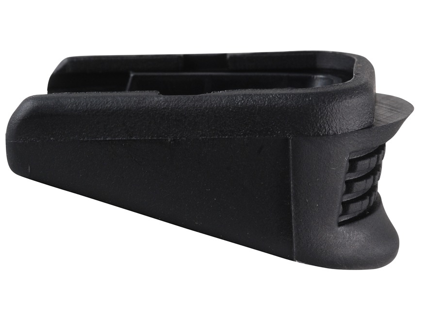 Pearce Grip Magazine Base Pad Glock 26, 27, 33 Plus One Polymer Black