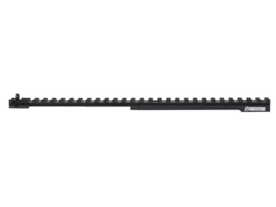 XS Full Length Scope Mount Rail Ruger Gunsight Scout Aluminum Matte