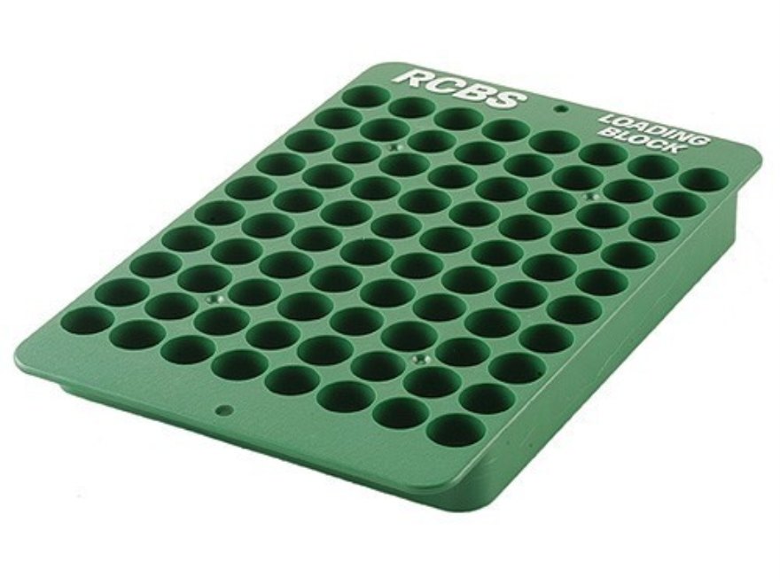 RCBS Universal Reloading Tray 40-Round Plastic Green