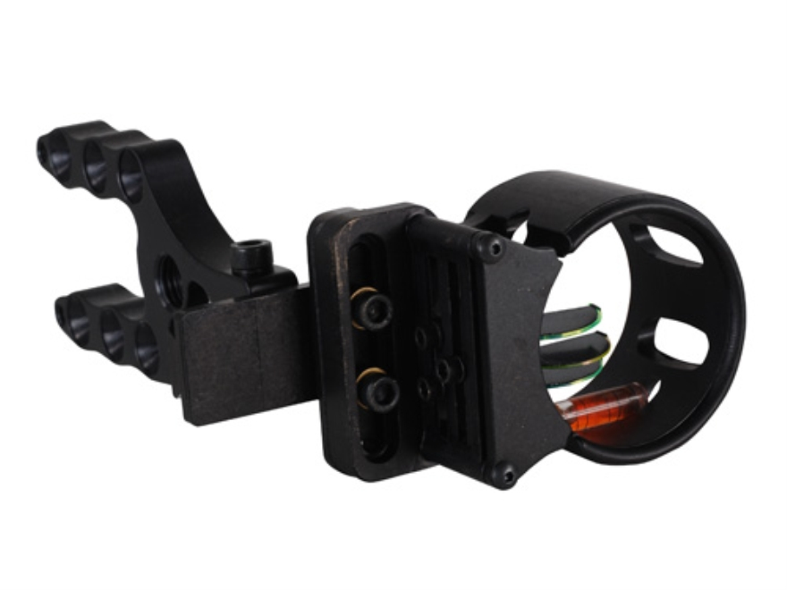 "Extreme Tundra 3-Pin Bow Sight .029"" Pin Diameter Right Hand Aluminum Black"