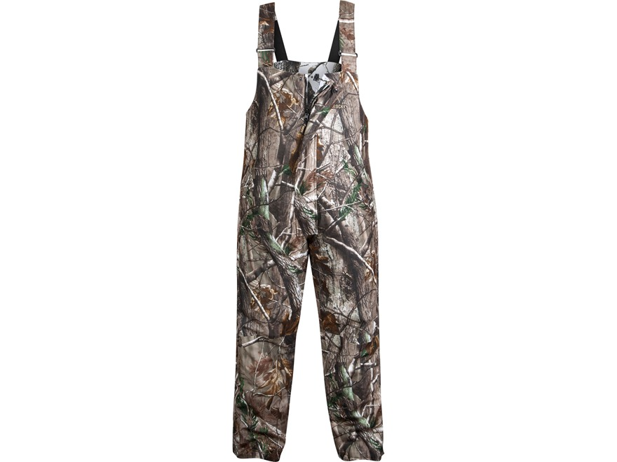 "Rocky Men's ProHunter Reversible Waterproof Insulated Bibs Polyester Realtree AP and Realtree Hardwoods Snow Camo Large 35-38 Waist 32"" Inseam"