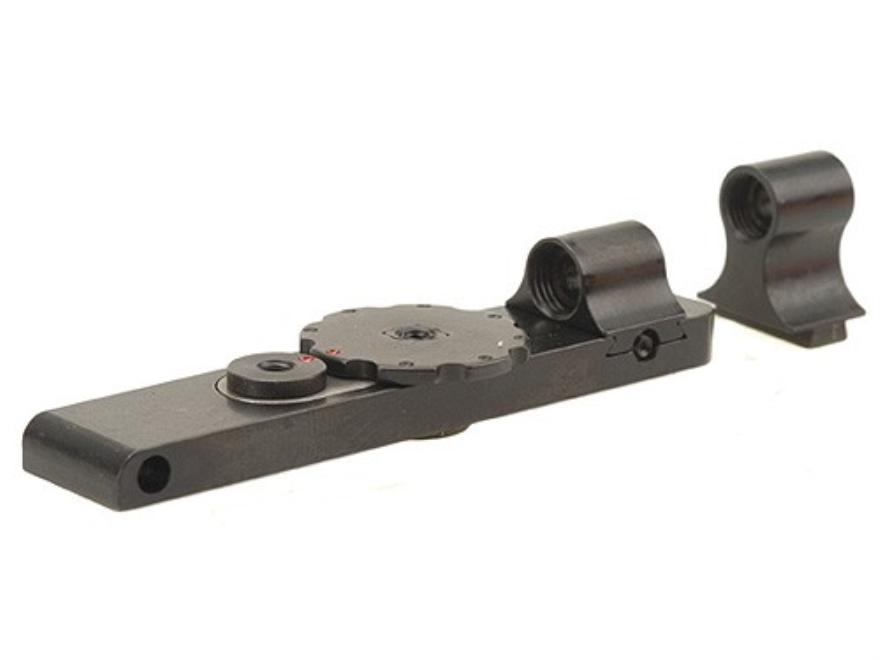 Mojo Micro Click Snap Sight Front and Rear Set Mosin-Nagant 44, 38 Steel Blue