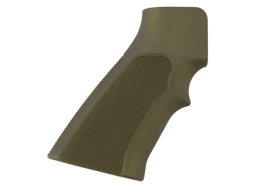 Hogue Extreme Series Grip AR-15, LR-308 Checkered Aluminum Matte