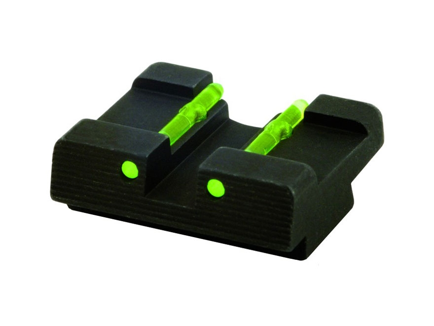 HIVIZ Rear Sight Kahr All Models with New Style Dovetailed Rear Sight Fiber Optic Red