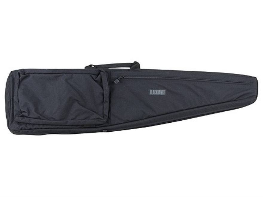 Blackhawk Scoped Rifle Gun Case with Pocket and Sling Nylon