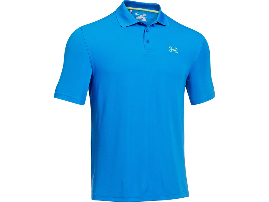 Under Armour Men's UA Fish Hook Polo Shirt Synthetic Blend