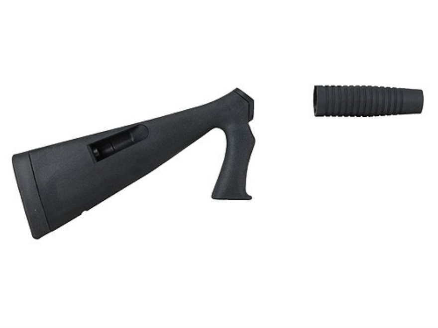 Speedfeed 3 Tactical Pistol Grip Buttstock and Forend with Integral Magazine Tubes Winchester 1200, 1300 12 Gauge Synthetic Black