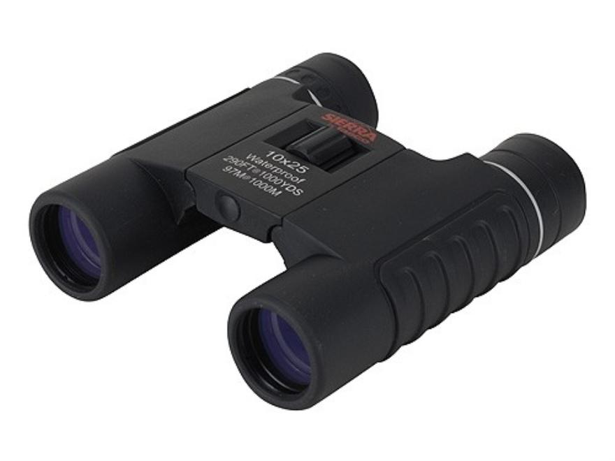 Tasco Sierra Compact Binocular 10x 25mm Roof Prism Black