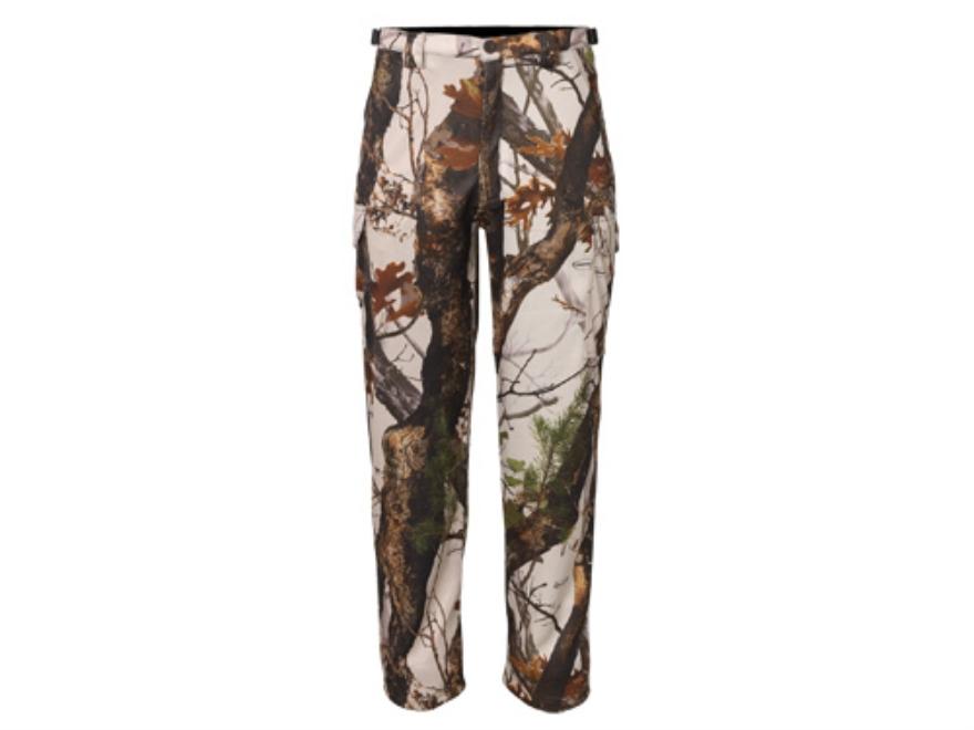 "Scent-Lok Men's Savanna Vigilante Pants Polyester Vertigo Camo Large 36-38 Waist 32"" Inseam"