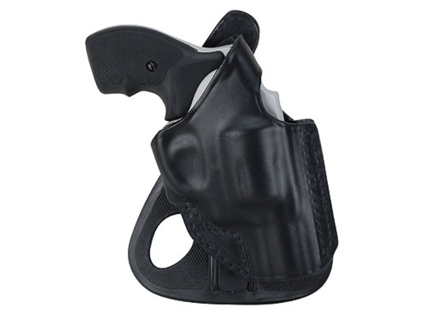 BlackHawk CQC Angle-Adjustable Paddle Holster Right Hand Glock 19, 23, 32, 36 Leather Black