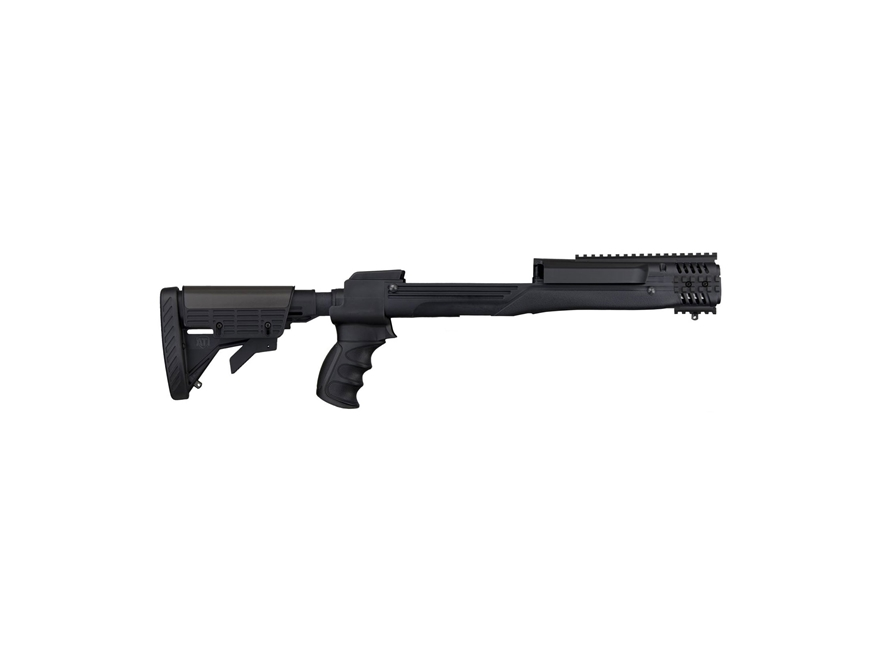 Advanced Technology Strikeforce 6-Position Collapsible Rifle Stock Set with Buttpad and...
