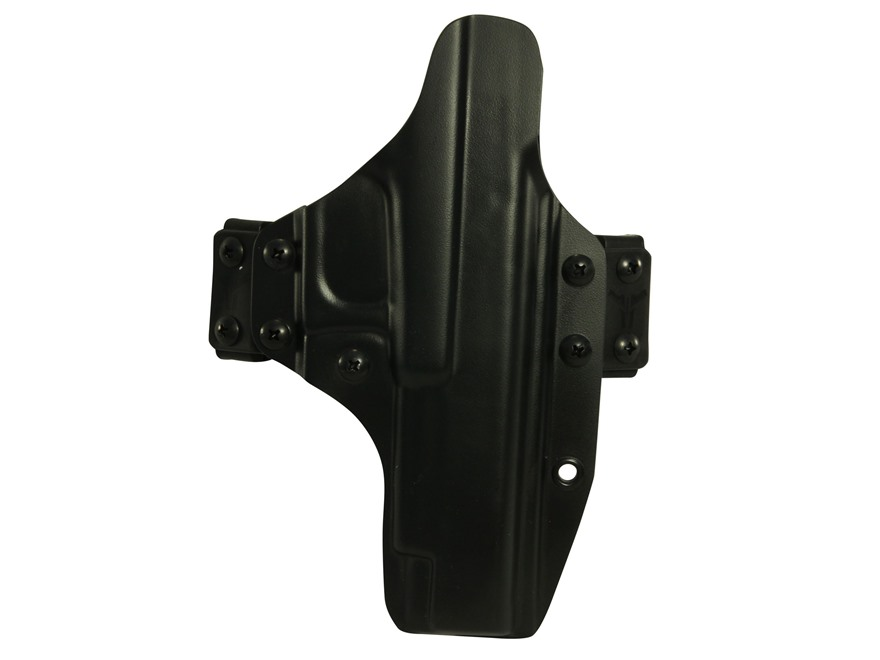 Blade-Tech Eclipse Straight Drop Outside the Waistband Holster Ambidextrous Glock 34, 35 Kydex Black