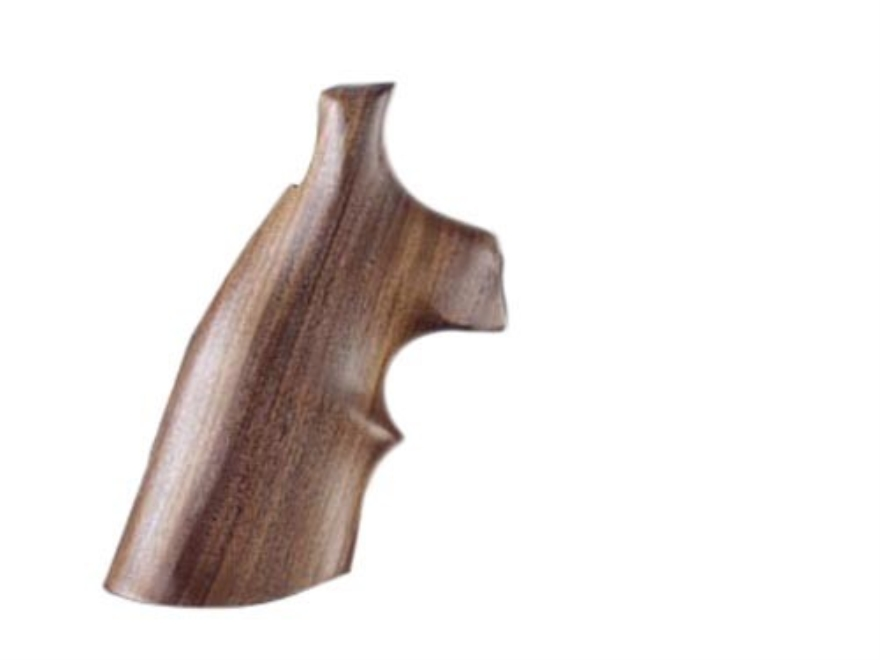 Hogue Fancy Hardwood Grips with Top Finger Groove Taurus Medium and Large Frame Revolvers Square Butt
