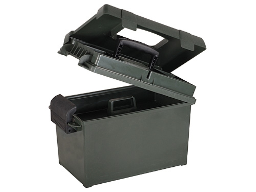 "MTM Sportsman Plus Utility Dry Box 15"" x 8.8"" x 9.4"" Polymer Forest Green"