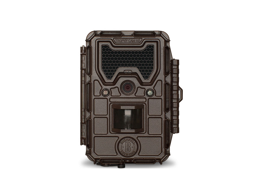 Bushnell Trophy Cam HD Black Flash Infrared Game Camera 8 Megapixel Brown