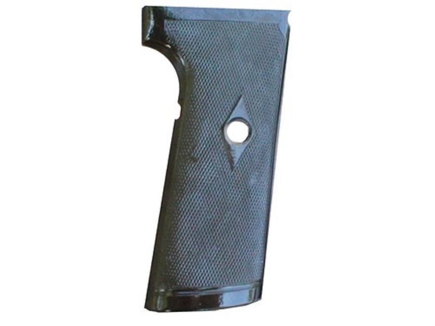Vintage Gun Grips Webley 1910 with Escutcheon 38 ACP Polymer Black