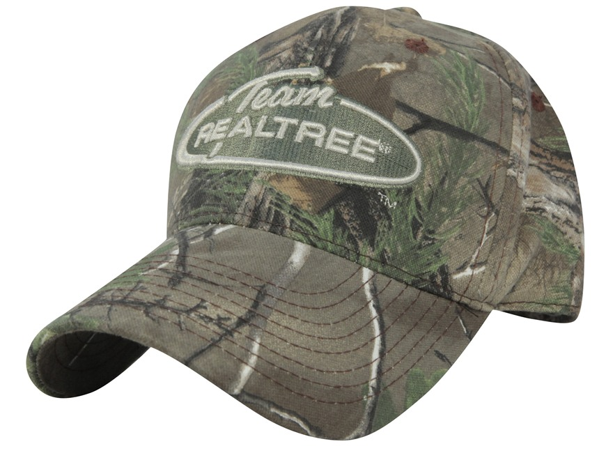 Team Realtree Camo Logo Cap