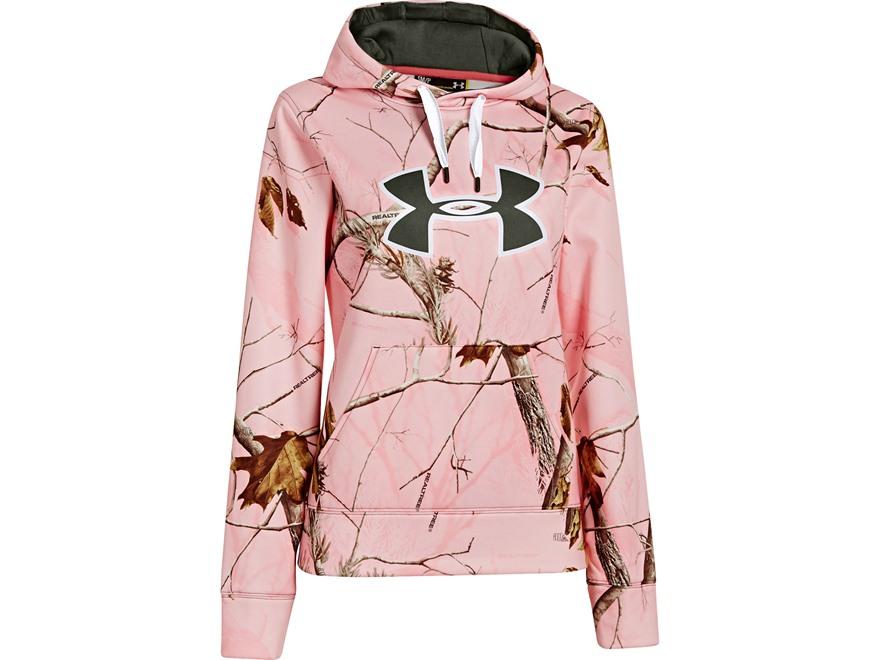 under armour womens big logo hooded sweatshirt polyester