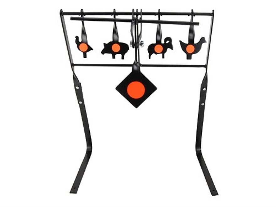 Champion NRA Silhouette Auto-Reset Target System 22 Caliber Rimfire Steel
