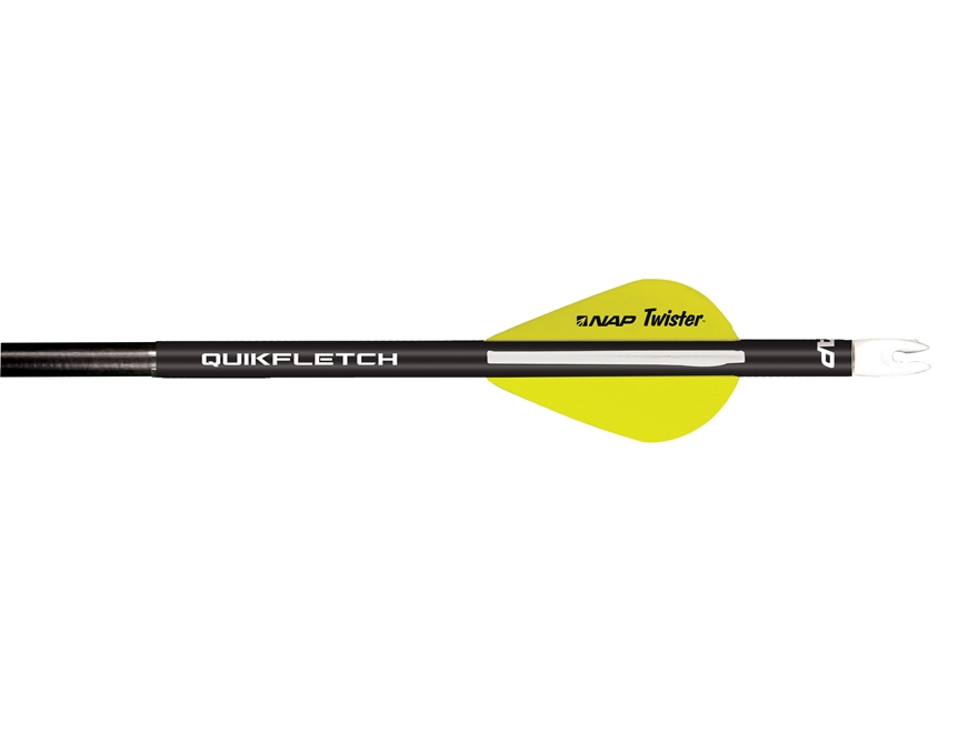 NAP Quikfletch Twister Arrow Fletching System
