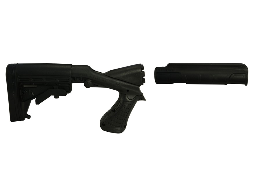 Blackhawk Knoxx SpecOps Gen 2 NRS Adjustable Length of Pull Stock with Forend Remington 870 12 Gauge Synthetic