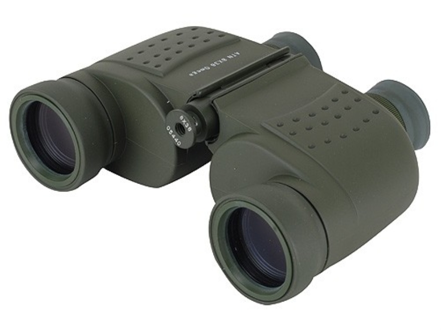 ATN Omega Class Binocular 8x 36mm Porro Prism with Rangefinder Reticle Green