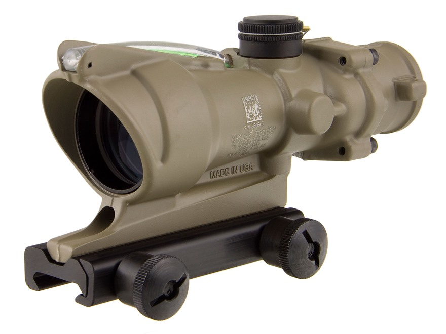 Trijicon ACOG TA31-D Rifle Scope 4x 32mm Dual-Illuminated with TA51 Flattop Mount