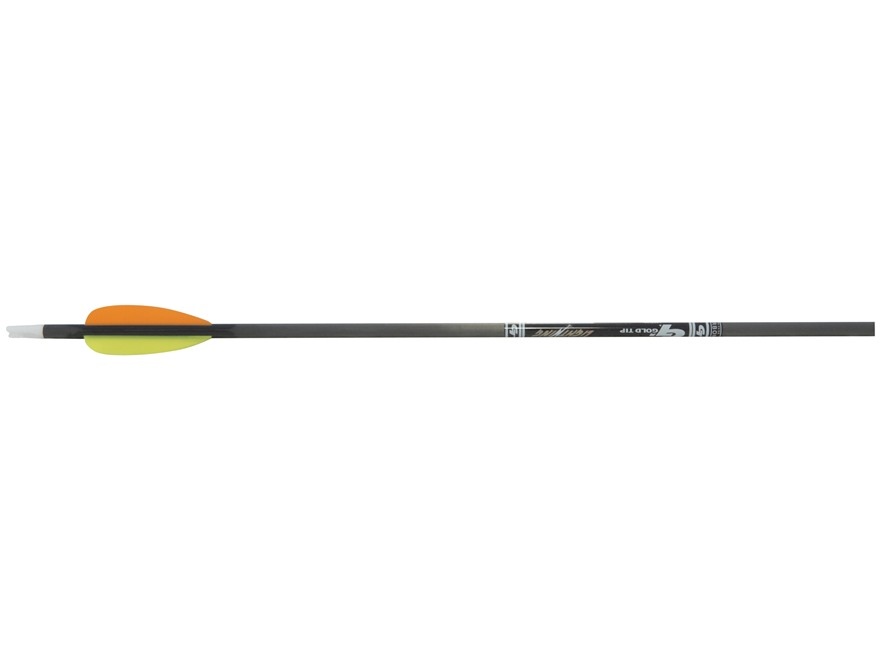 "Gold Tip Lightning Youth Carbon Arrow 2.5"" Vanes Black Pack of 3"