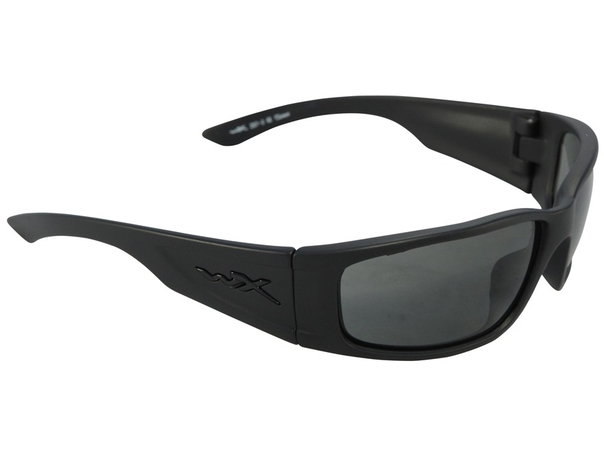 Wiley X Black Ops Zak Sunglasses Smoke Gray Lens