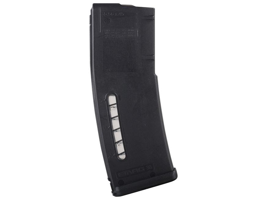 Magpul Emag Magazine AR-15, HK 416, SA-80 223 Remington 30-Round Polymer Black