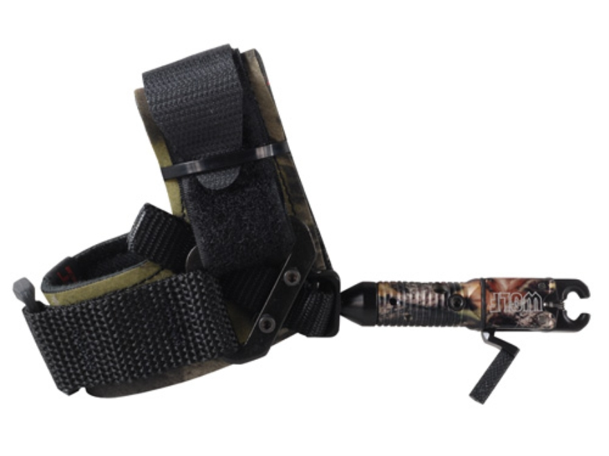Scott Archery Wolf Bow Release Hook-&-Loop Fastener Wrist Strap Mossy Oak Break-Up Infinity Camo