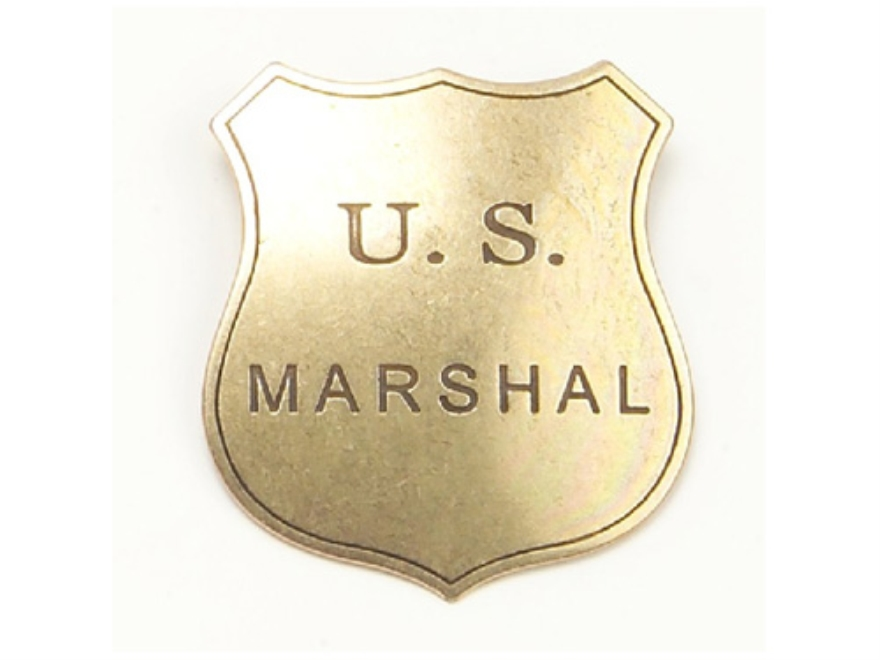 Collector's Armoury Replica Old West Antique US Marshal Shield Badge