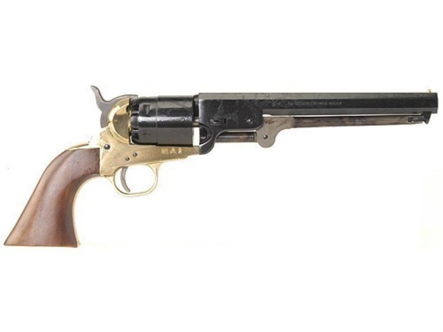 Pietta 1851 Navy Brass Frame Black Powder Revolver Blue Barrel