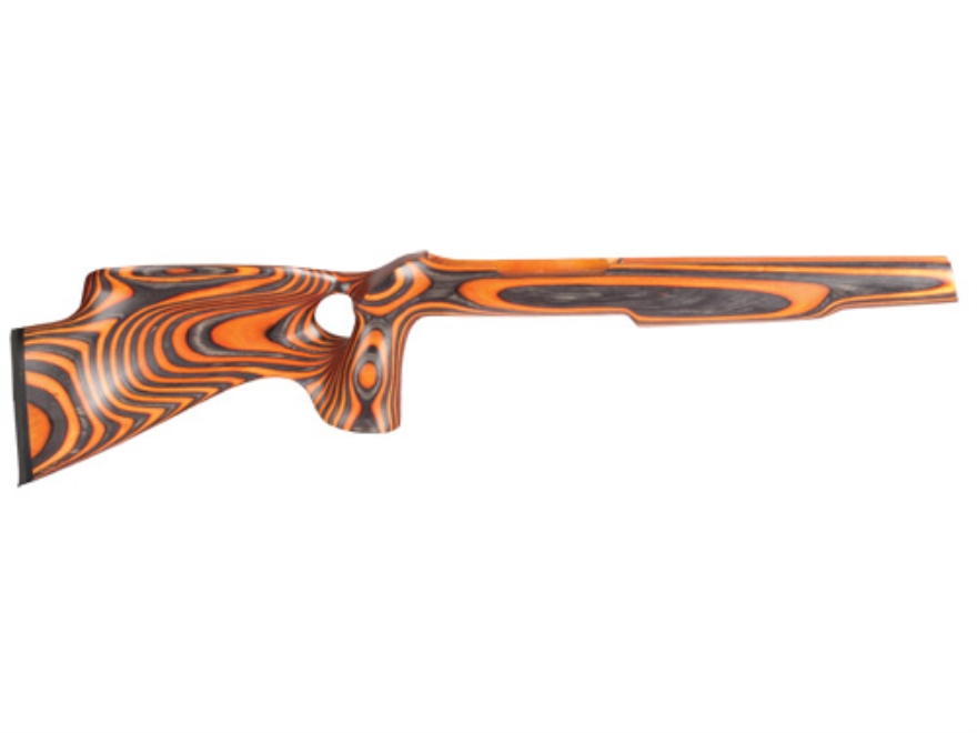 "Volquartsen Silhouette Thumbhole Rifle Stock Ruger 10/22 .920"" Barrel Channel Right Hand Laminated Wood Orange"