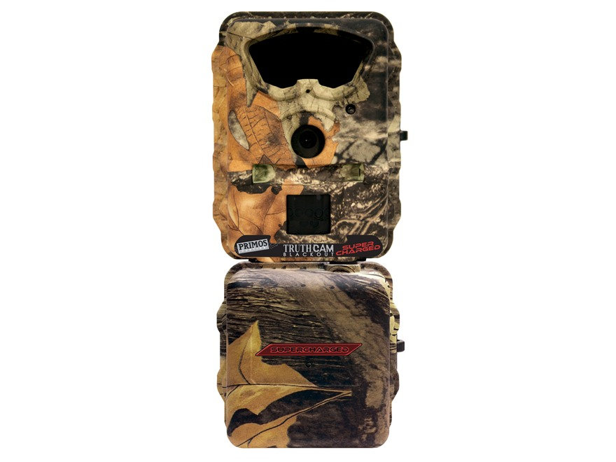 Primos Truth Cam Supercharged Blackout Black Flash Infrared Game Camera 7.0 Megapixel M...