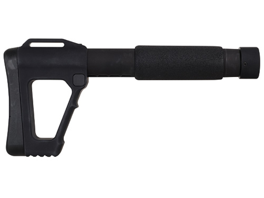 ACE Modular M4 SOCOM Collapsible Buttstock for Modular Receiver Blocks Aluminum Matte