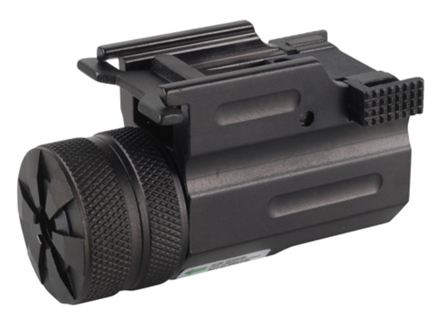 NcStar 5mw Ultra Compact Green Laser Sight with Integral Quick Release Weaver-Style Mount