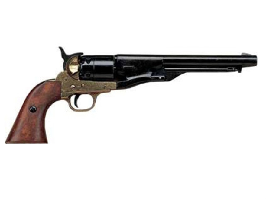 Collector's Armoury Replica Civil War Non Firing Decorated Collector Model 1860 Army Revolver Blued