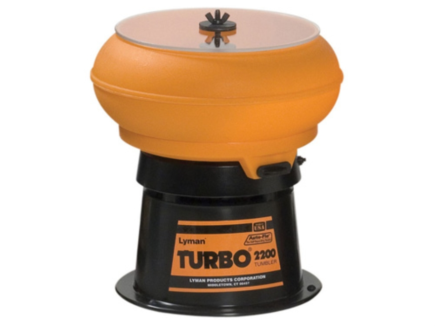 Lyman Turbo 2200 Case Tumbler with Auto-Flo 110 Volt