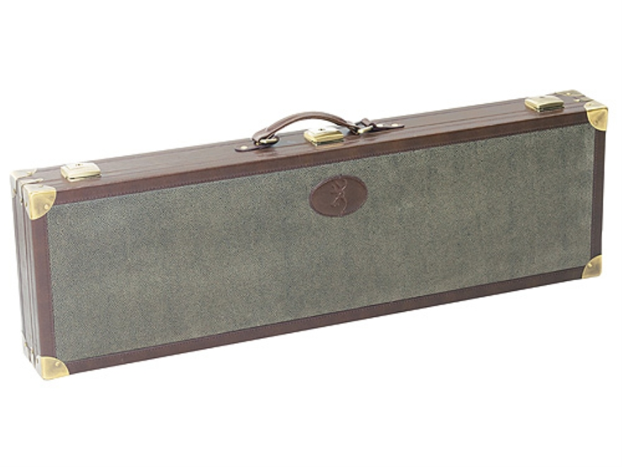 "Browning Wild Boar Takedown Shotgun Gun Case for Guns with Barrels up to and over 32"" Synthetic Pigskin"