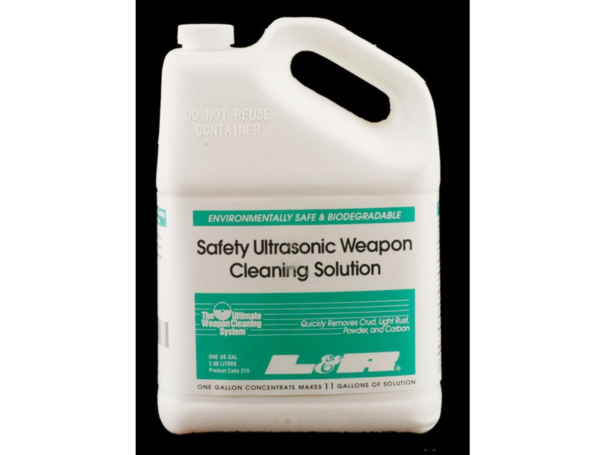 L&R Ultrasonics Firearm and Brass Case Cleaning Concentrate 1 Gallon