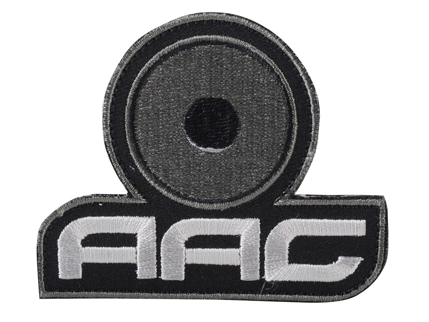 Advanced Armament Co (AAC) Stacked Logo Patch Hook-&-Loop Fastener