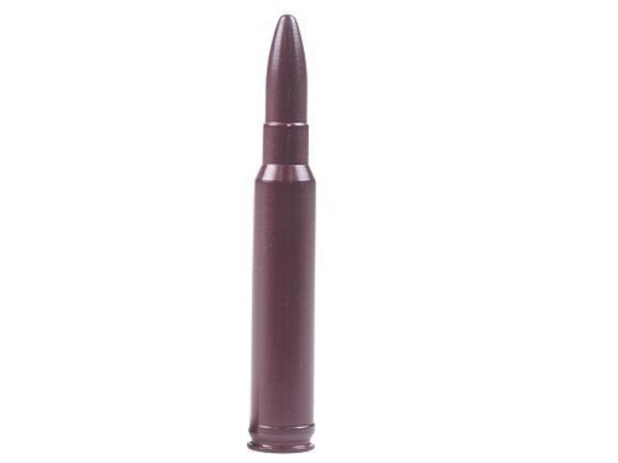 A-ZOOM Action Proving Dummy Round, Snap Cap 338 Winchester Magnum Aluminum Package of 2