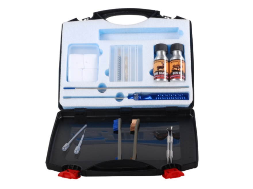 Montana X-Treme (MTX) Professional Gun Cleaning Kit 22 Caliber Includes 4-Piece Stainless Steel Rod