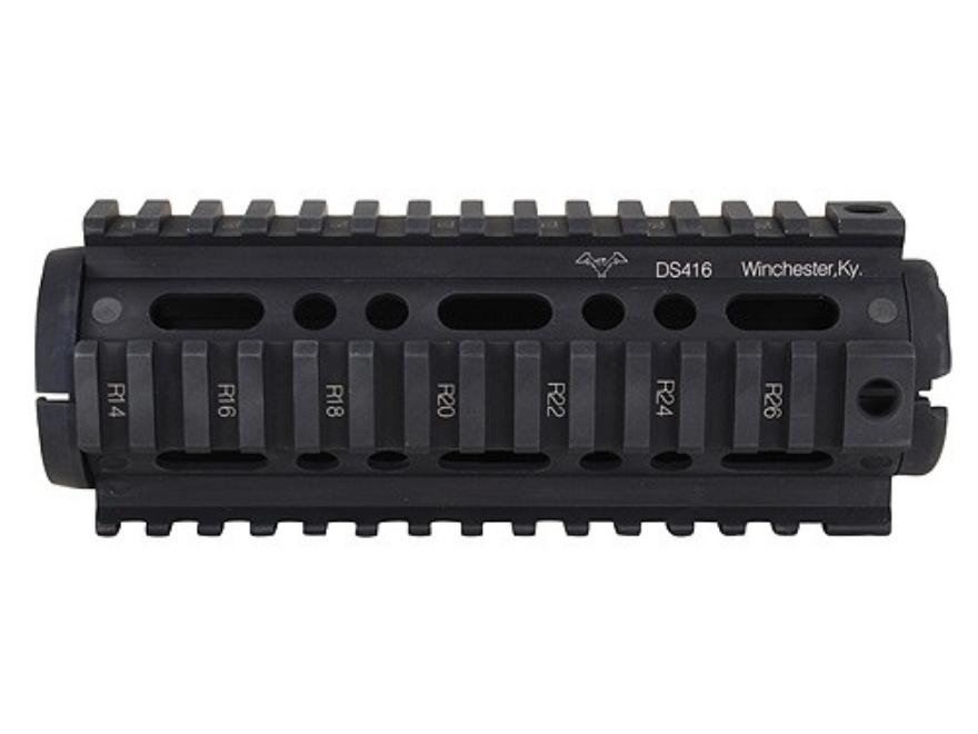 DoubleStar 2-Piece Handguard Quad Rail AR-15 Carbine Length Aluminum Matte