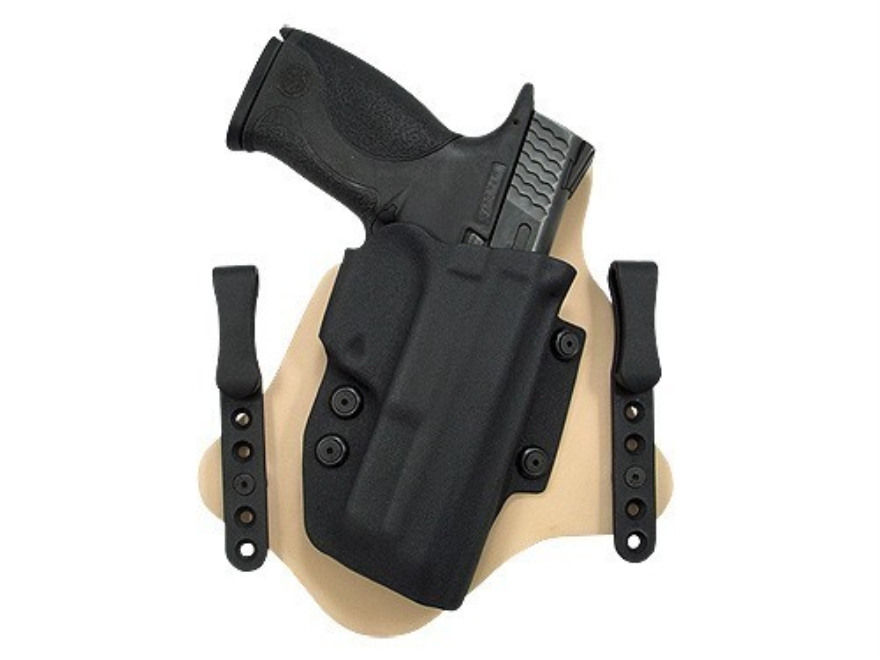 Comp-Tac Minotaur Spartan Inside the Waistband Holster Right Hand S&W M&P Compact 9mm Luger, 40 S&W Kydex and Leather