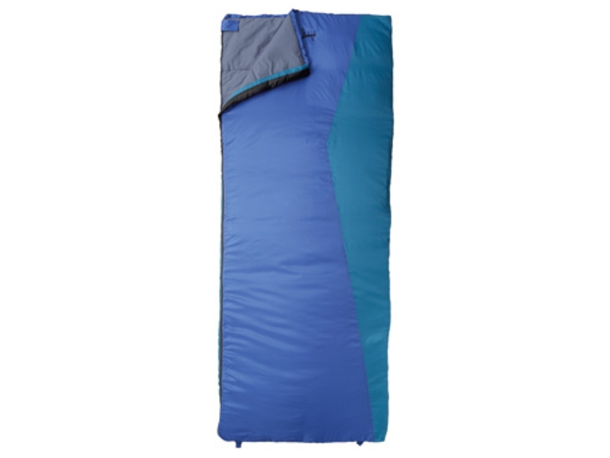 "Slumberjack Telluride 30 Degree Tall Sleeping Bag 34"" x 84"" Polyester Blue"
